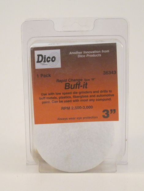 "3"" Buff-it Disc 1pk"